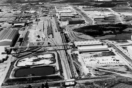 Vista de la planta de Almusafes de Ford España