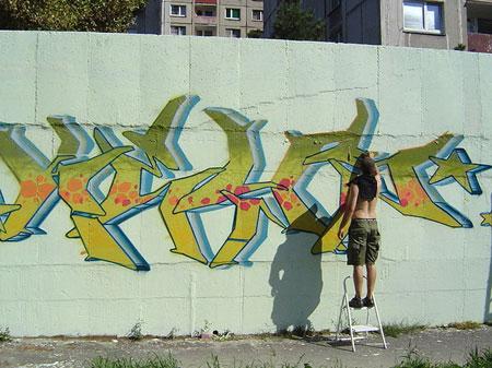 Imatge d'un graffitiNota legal: © Keysmatic (2007). Creative Commons Reconeixement Compartir Igual 3.0-es. Publicada a wikimedia commons.