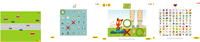 Ejemplos de tareas incluidas en el programa Guttmann, NeuroPersonal Training - Infantil. Fuente: http://www.guttmanninnova.com.