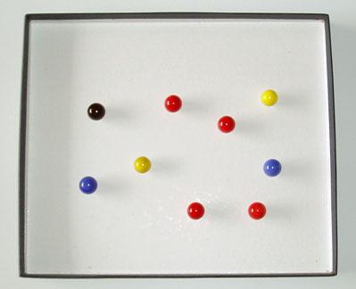 Figura 5. Fotografía de la tarea de contar canicas
