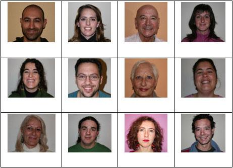 Figura 22. Tarea de reconocimiento de caras