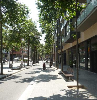 Figura 24. Fotografía de una calle conocida para el sujeto