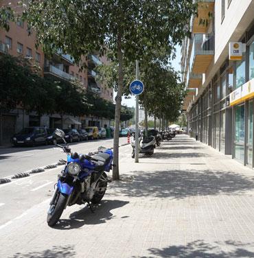 Figura 25. Fotografía de una calle desconocida para el sujeto