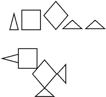 Figura 28. Instrucciones gráficas para hacer una figura de papel