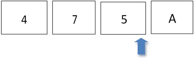 Figura 16. Ejemplo de identificación de números