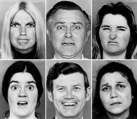 Ejemplo de tarea de reconocimiento de expresiones emocionales en el rostro